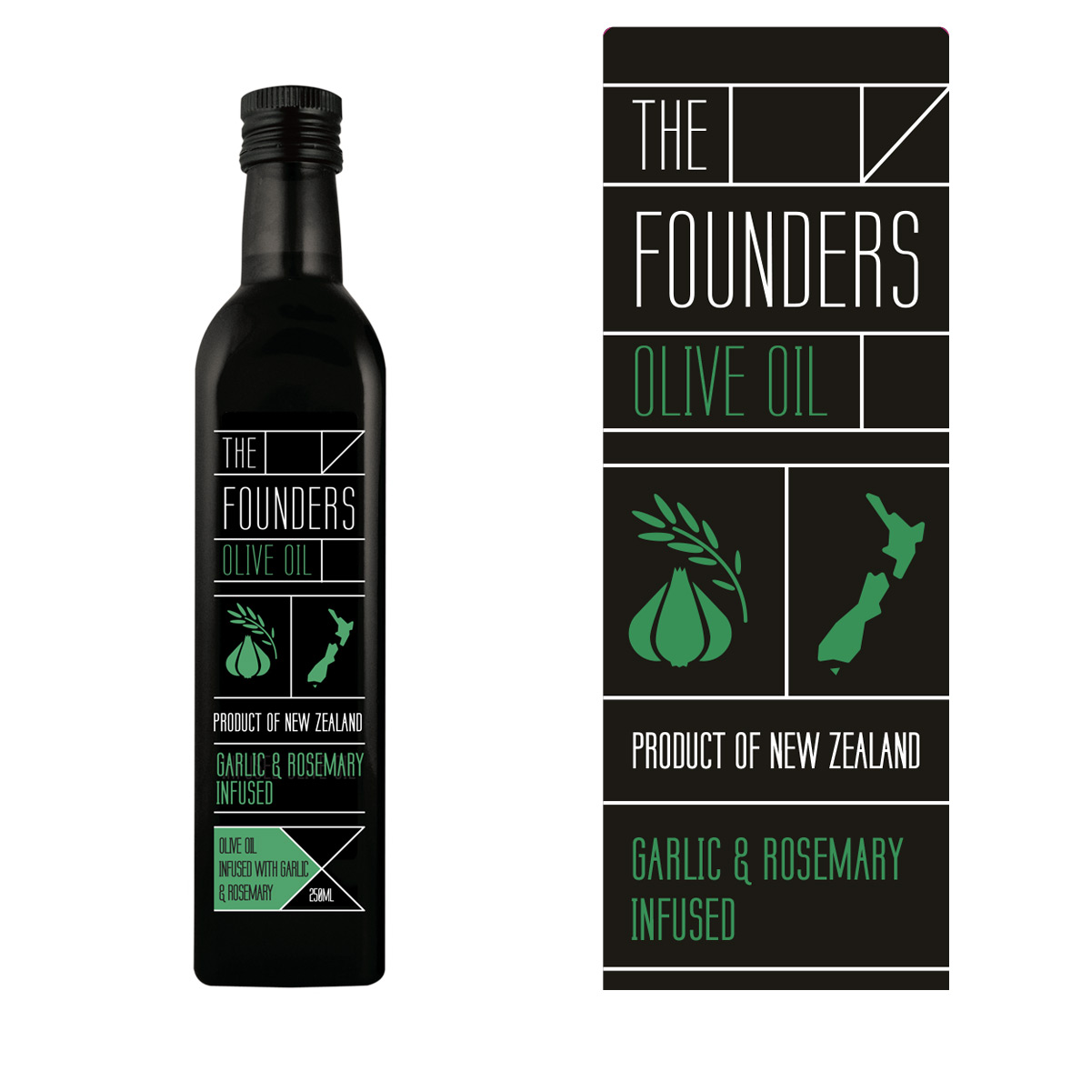 The-Founders-Olive-Oil-Garlic&Rosemary-250ml-1200×1200