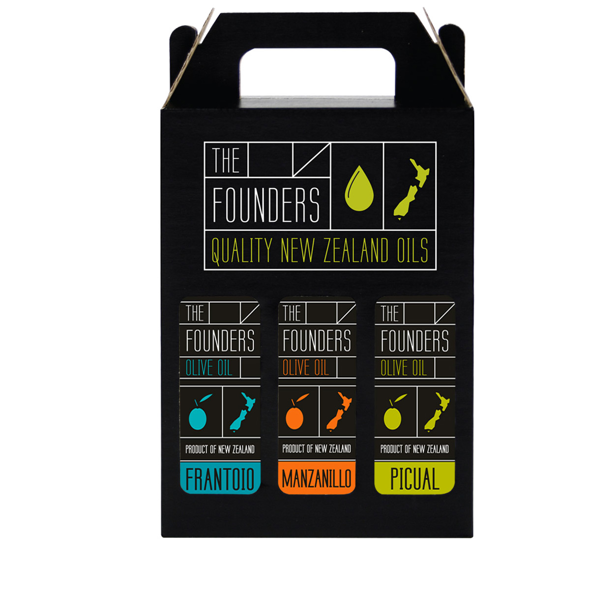 The-Founders-Olive-Oil-Giftpack-3x250ml-1200×1200-Cold-Pressed-EVOOs
